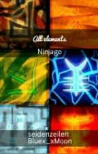 All elements - Ninjago  by Bluex_xMoon