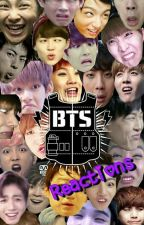 BTS Reactions by _WaterMoon