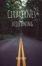 Citaternes Vejledning by Aida_Friis