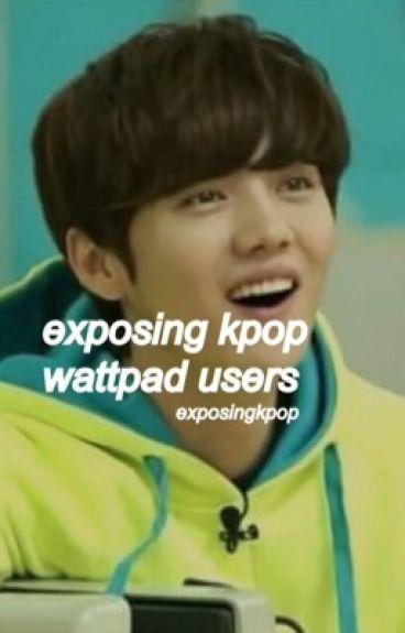 exposing kpop wattpad users