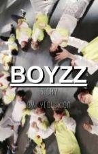 boyzz :: exo texting  by yeoluxion