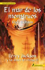 percy jackson y el mar de los monstruos by luisaDAZA22