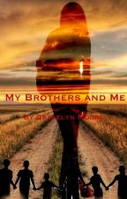 My brothers and me by awkwardblondechick