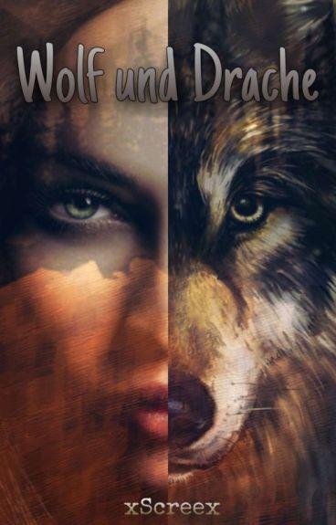 Wolf und Drache