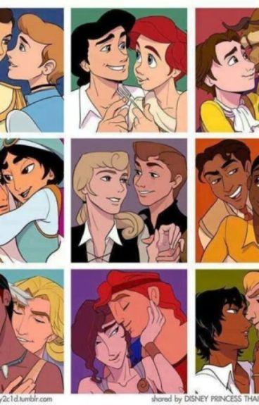 Disney Genderbend GAY