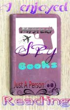 Spy Books I Enjoyed Reading 1 by justaperson926