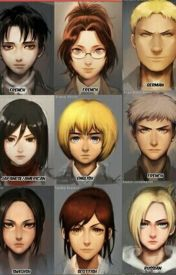 Aot Characters by Anime_sandwich
