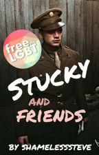 Stucky and friends → Avengers by shamelesssteve