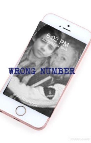 wrong number//josh matthews