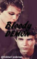 Bloody Demon by RobbieEyesbrows