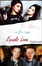 Two sisters, Two brothers equals love ( A Maynard book) by Violetloves64
