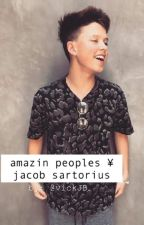 Amazin Peoples ¥ Jacob Sartorius {A EDITAR} by VickJB