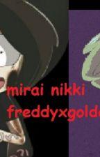 Mirai Nikki (goldenxfreddy)  by biancamoyaz