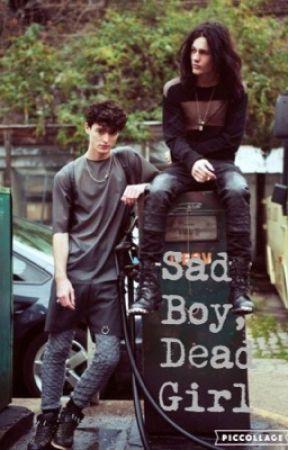 Sad boy, Dead girl by The_angel_of_darknes