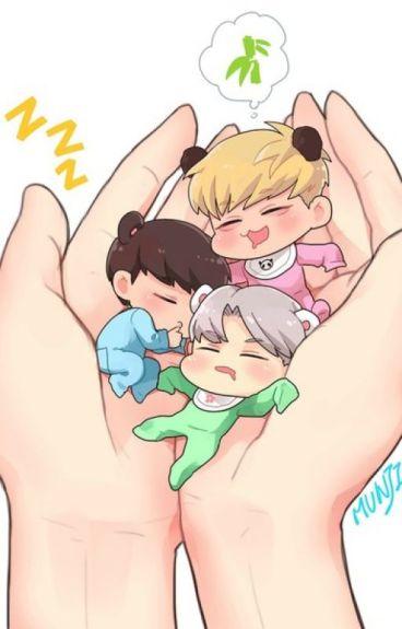 [shortfic EXO] Cuộc chiến cuả các bé  Cưng