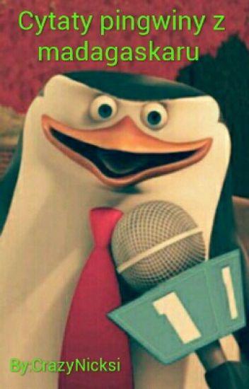 Cytaty Pingwiny Z Madagaskaru Crazynicksi Wattpad