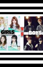 GIRLS vs BOYS by reaynangmgaTANGA