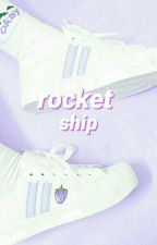 rocket ship::joshler  by marzo-