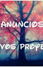 Anuncios Y Nuevos Proyectos! by Kathie_rebecca