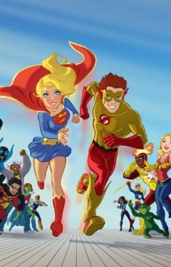 kid flash x lianna  oc  super girl  - lianna marie20201