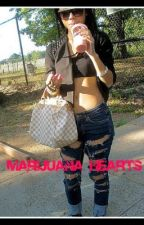 Marijuana Hearts by Jessy__