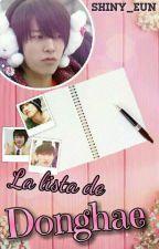 La lista de Donghae [Eunhae/Haehyuk] by shiny_eunhyukkie