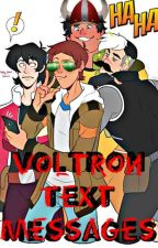 Voltron Text Messages by SkyLion42
