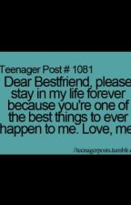 Dear My Best Friend(A letter) by 101oBsEsSioNs