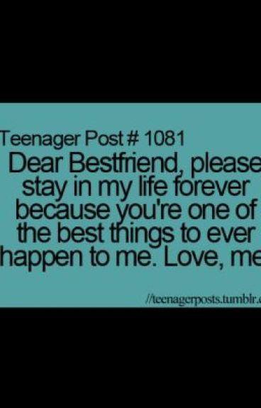 dear my best friend a letter  - ally