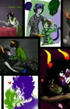 gamzee x nepeta  by Aries12345678910
