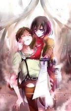 Eren X Mikasa by _Yukako_