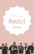 MONSTA X Horóscopo by Pingkeu_Kpopper