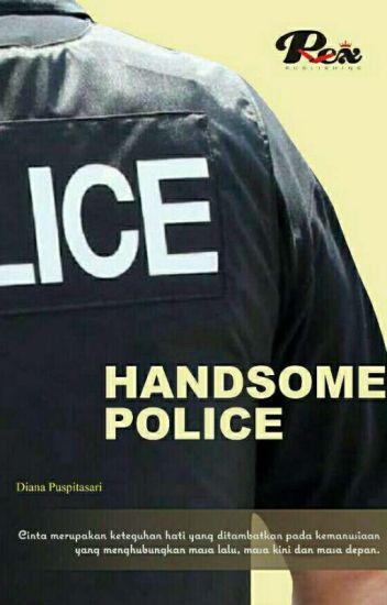 HANDSOME POLICE (PROSES CETAK)