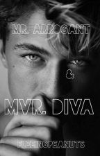 Mr. Arrogant & Mvr. Diva by fleeingpeanuts