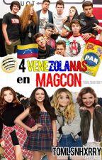 4 Venezolanas en Magcon by gilinskymarico