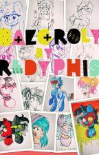 Rysunki i bazgroły- mój świat pomiędzy kredkami ^^ by Redyphis