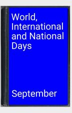 World, International and National Days. by stripey
