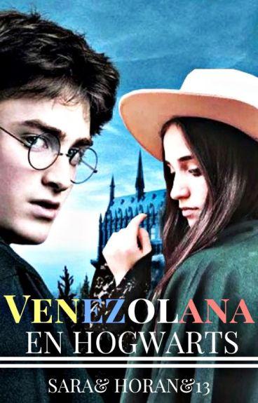 Venezolana en Hogwarts.  ©