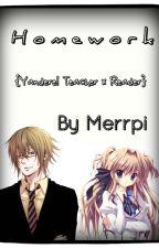 H o m e w o r k  { Yandere! Teacher x Reader } by Merrpi