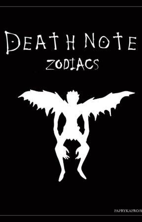Death Note » zodiacs [Zawieszone] by Veenare