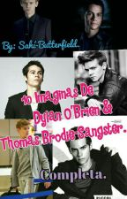 💙10 Imaginas De Dylan O'Brien & Thomas Brodie-Sangster. Completa💙 by Sahi-Butterfield