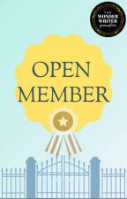 OPEN MEMBER theWWG by theWWG