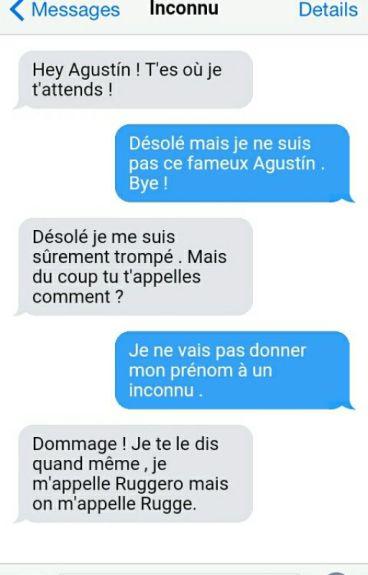 Ruggarol - SMS -  EN PAUSE
