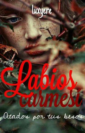 "Labios carmesí ""Atados Por Tus Besos"" by Luxyere"