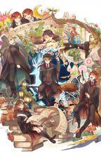 Personajes de la tercera y cuarta generación(HP) by LauraAAAE00