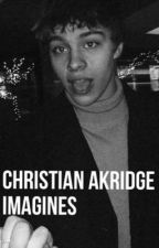 Christian akridge imagines  by honeybunchristian