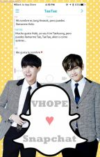 [Snapchat ≈ VHope] by GomitaKawaii13