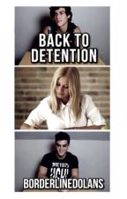 Back to detention. // e.d+g.d //  by borderlinedolans
