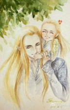 Flowers For Adar ~ Little Legolas by feathertailsilver