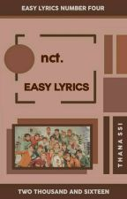 NCT - EASY SONG LYRICS ❤ by Jesssaaaaa